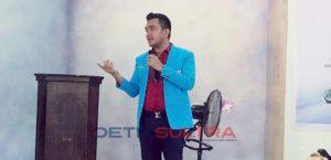 Ketua DPD KNPI Sultra Umar Bonte