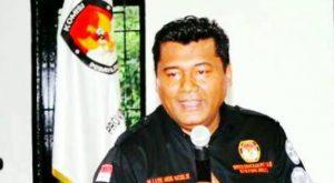Foto La Ode Abdul Natsir Ketua KPU Sultra