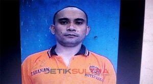 Foto Doli alias derik tahanan kasus narkoba yang melarikan diri dari rutan di raha