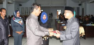 Bupati Butur dan Ketua DPRD Butur