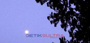 Kndisi Bulan Jelang Gerhana Bulan Total