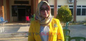 Bakal calon legislatif Dapil Konawe 1, Erina Fatmawati.
