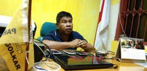 Ketua DPD II Partai Golkar Kota Kendari, Hikman Balagi