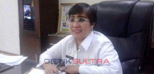 Pj Sekda Sultra, Hj. Isma. Foto: Yusuf Maronta/Detiksultra.