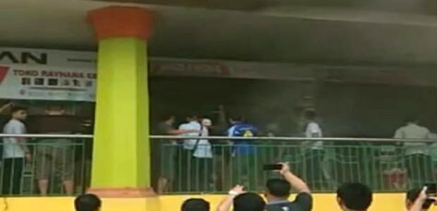 Mall Mandonga Terbakar