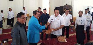 Penerimaan peserta KKN tematik IAIN Kendari di Kabupaten Muna.