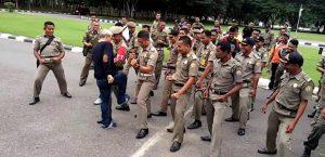 Satuan Polisi Pamong Praja Sultra.