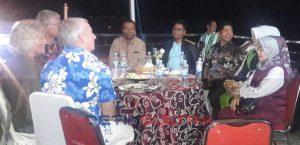 La Bakry Menjamu Peserta Wonderful Indonesia