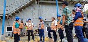 Plt Walikota Tinjau Intake Sumber Air
