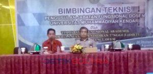 Rektor Universitas Muhammadiyah Kendari