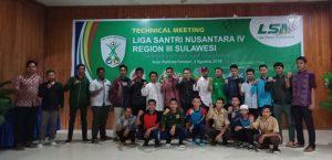 Teknikal Meeting Liga Santri