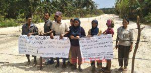 Para Pemilik Lahan di Wandoka Wakatobi