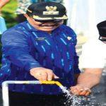 Arhawi dan Ali Resmikan Air Bersih
