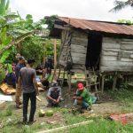 Bedah Rumah oelh Komunitas Sedekah Jariah Bersama