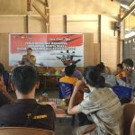 Diskusi Humas Polda Sultra denga Mahasiswa