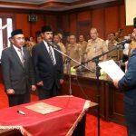 Gubernur Sultra Lantik Pejabat di Lingkup Pemprov Sultra