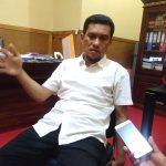 Ketua KPU Kota Kendari Jumwal Saleh