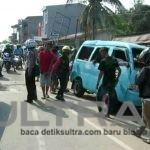 Olah TKP Kecelakaan Angkot di Kolaka