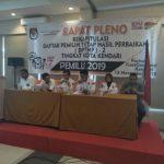 Rapat pleno KPU Kota Kendari