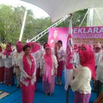 Deklarasi GK Ladies Sultra di tamkot