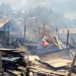 Kebakaran RUmah di Kota Lama Kendari