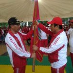 Plt Walikota Kendari Melepas Kontingen Porprov Kota Kendari