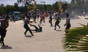 Bentrok mahasiswa dan polisi