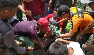 Evakuasi Wa Gue Korban Hilang di Buton Utara