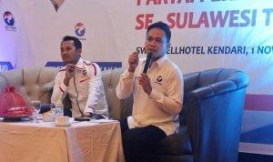 Ketua DPW Perindo Sultra, Jaffray Bittikaka