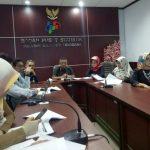 Konferensi Pers di Aula Kantor BPS