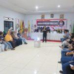 Suasana kursus kepemiluan di kantor KPU Kolaka-min