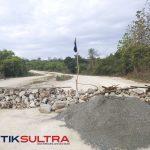 jalan yang diduga tanah milik warga