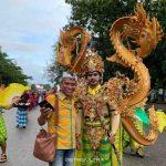 Ceceran Karnaval Tenun, Memaknai Filosofi Naga