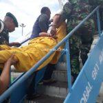 Usai Diperiksa Denpom, Predator Anak Diterbangkan ke Makassar