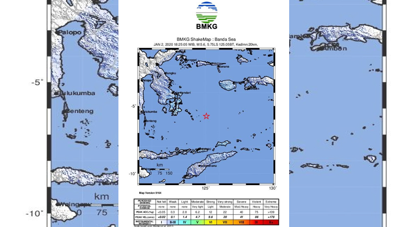 Photo of Usai Dilanda Puting Beliung, Wakatobi Diguncang Gempa